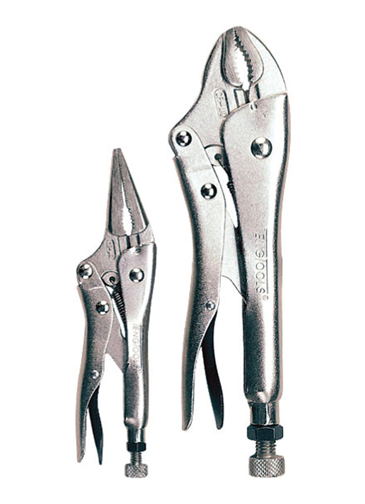 Teng Tools 2pc Power Grip Plier Set