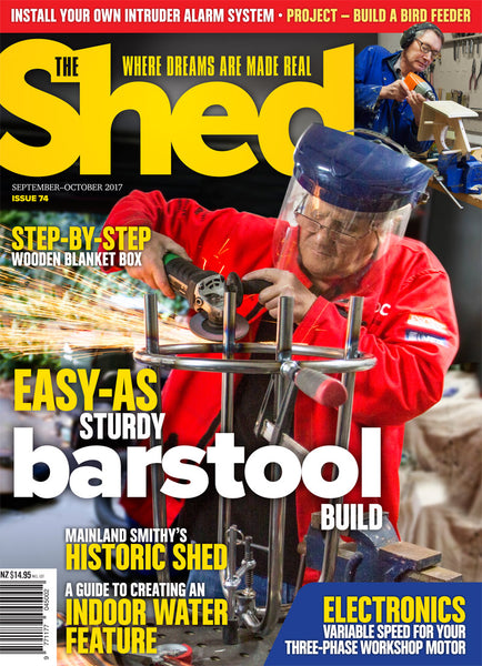 The Shed 74, September–October 2017