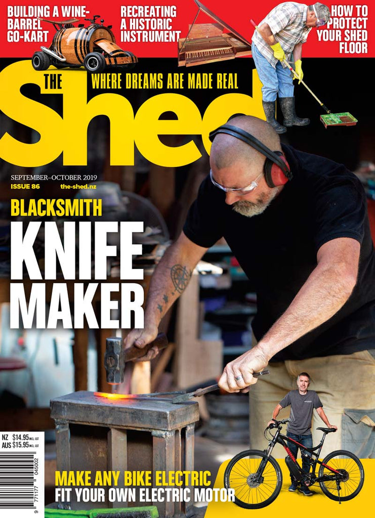 The Shed 86, September — October 2019