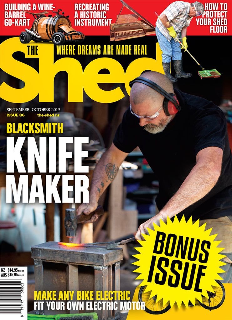 Subscription to The Shed with bonus issue