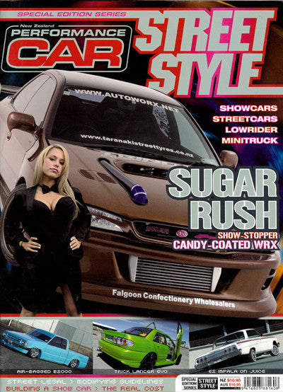 NZ Performance Car Special Edition — Street Style 2005