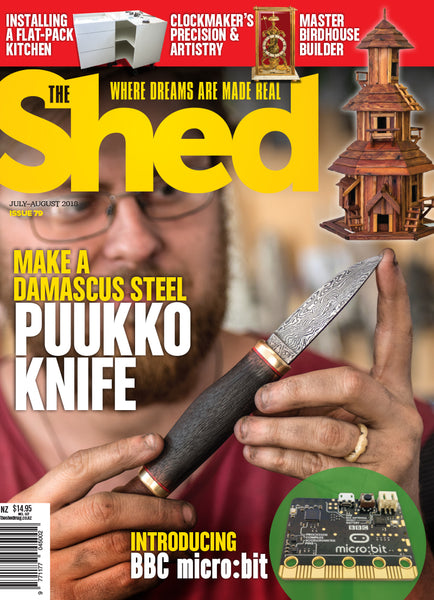 The Shed 79, July-August 2018
