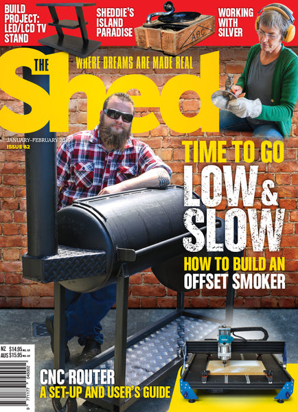 Subscription to The Shed magazine — one-year