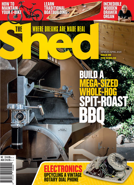 The Shed 89, March — April 2020