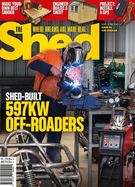 The Shed 90, May — June 2020