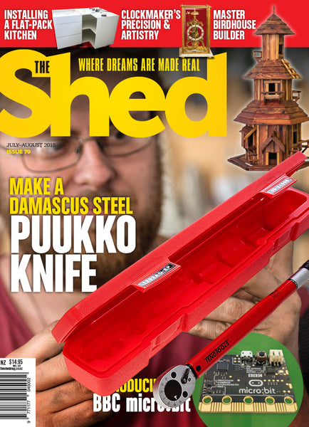 Subscription to The Shed magazine Father's Day bundle