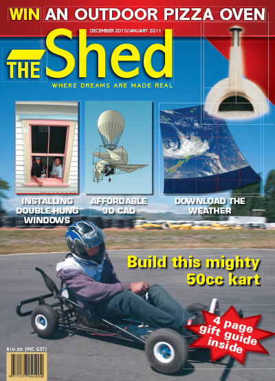 The Shed 34, December–January 2011