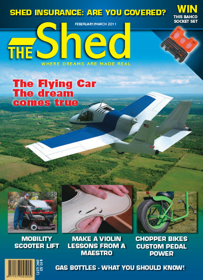 The Shed 35, February–March 2011