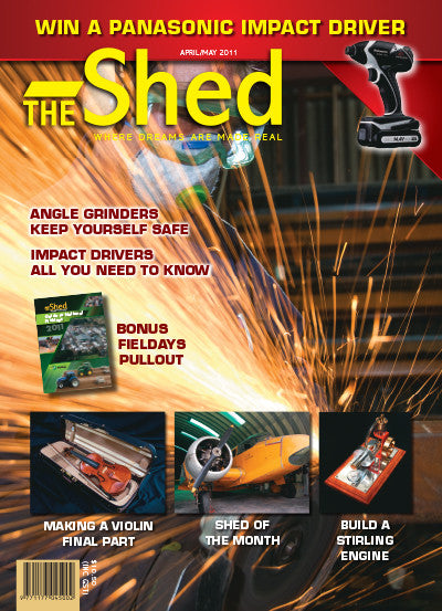The Shed 36, April–May 2011