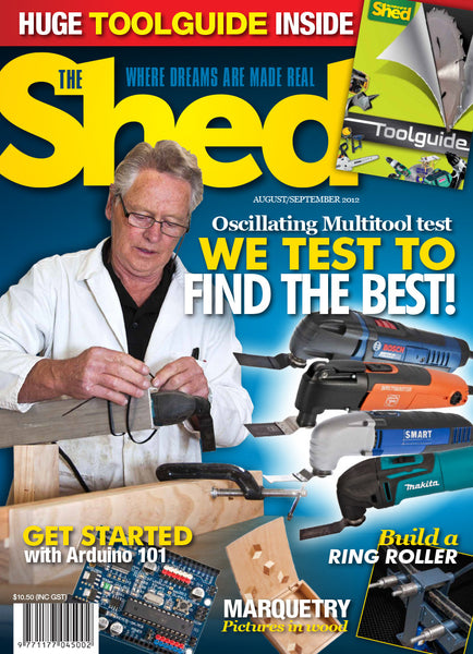 The Shed 44, August–September 2012