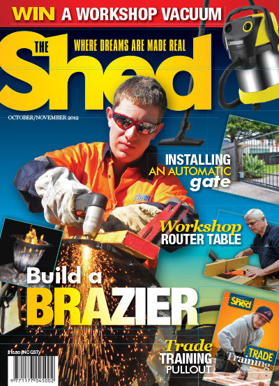 The Shed 45, October–November 2012