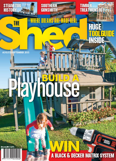 The Shed 50, August–September 2013