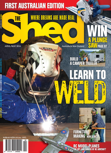 The Shed 54, April–May 2014