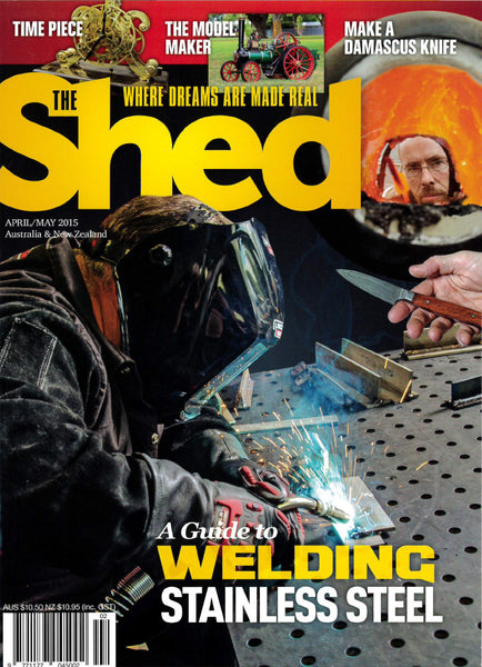 The Shed 60, April–May 2015