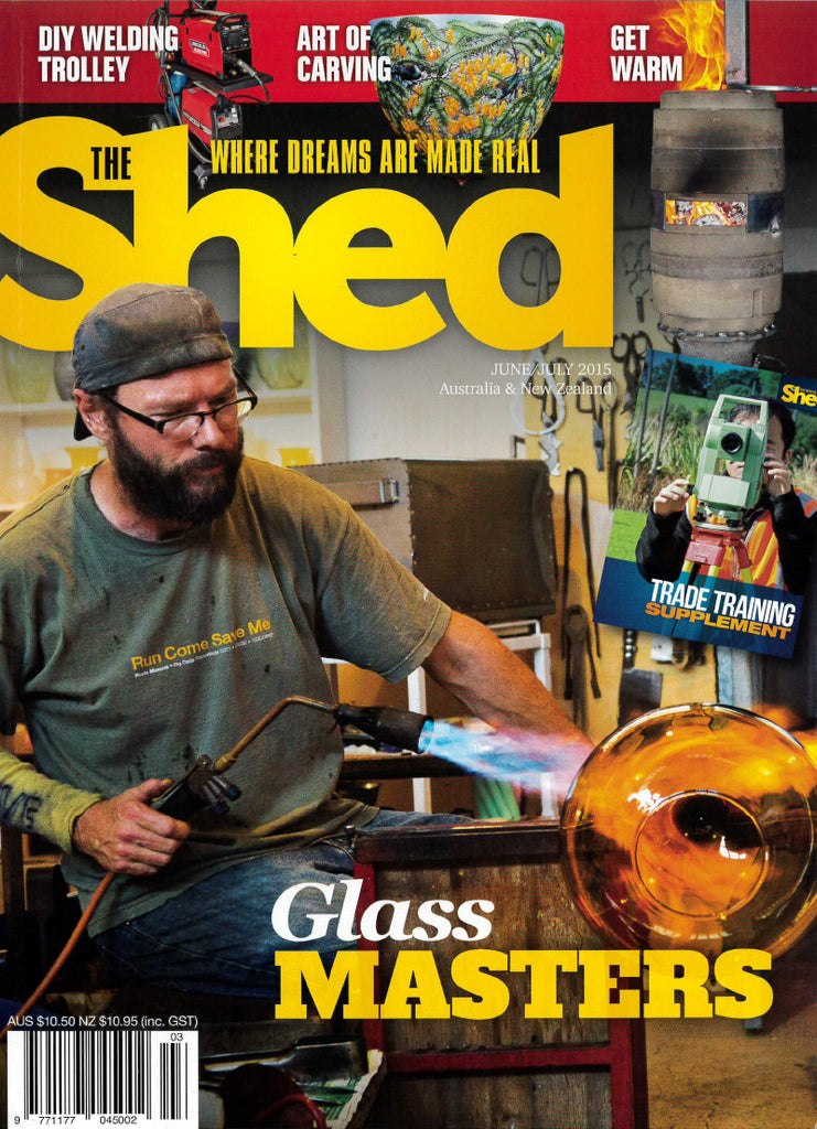 The Shed 61, June–July 2015