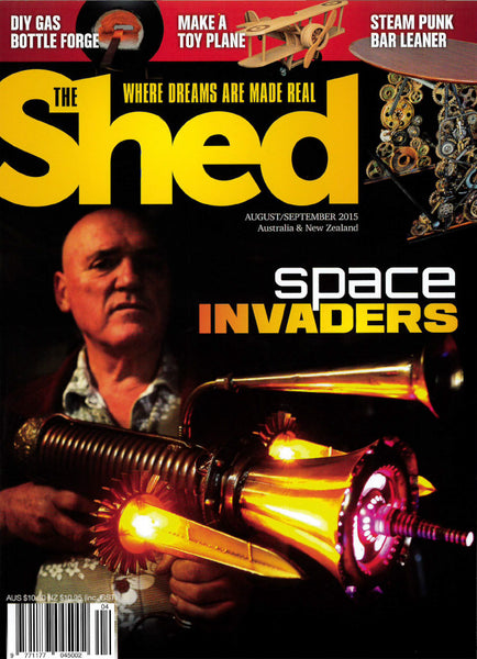 The Shed 62, August–September 2015