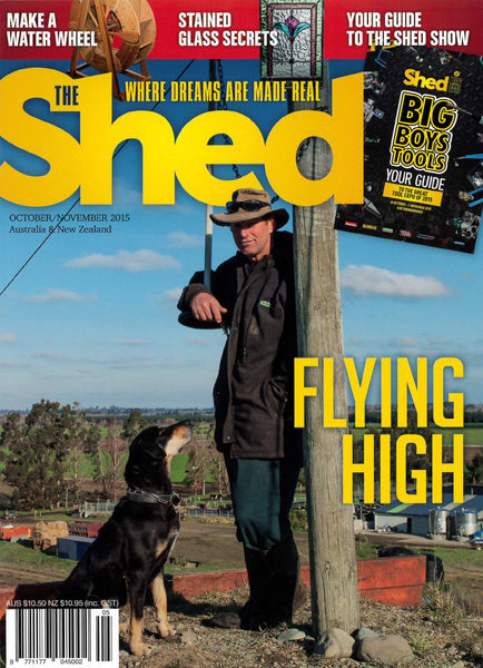 The Shed 63, October–November 2015