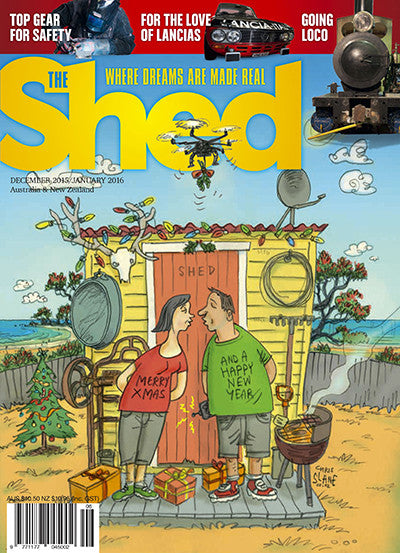 The Shed 64, December–January 2016