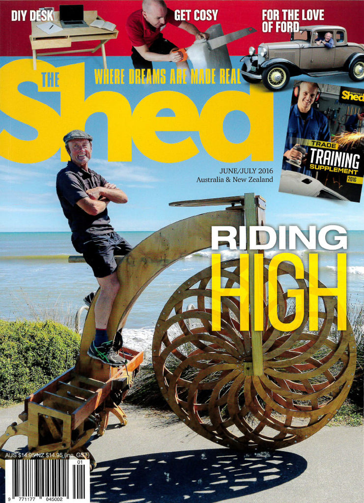 The Shed 67, June–July 2016
