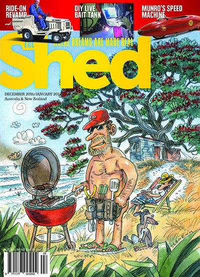 The Shed 70, December–January 2017