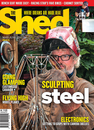 Subscription to The Shed magazine with free bottle of Simple Green Cleaner