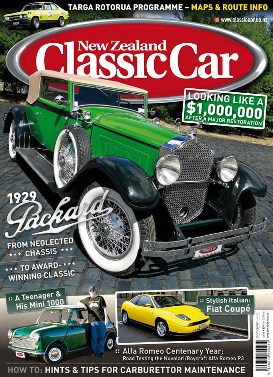 New Zealand Classic Car 234, June 2010