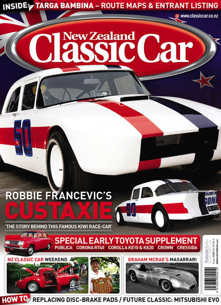 New Zealand Classic Car 231, March 2010