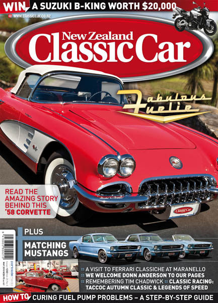 New Zealand Classic Car 233, May 2010