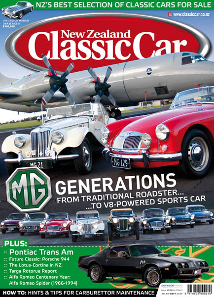 New Zealand Classic Car 235, July 2010