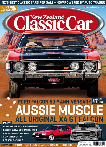 New Zealand Classic Car 236, August 2010