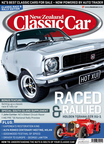 New Zealand Classic Car 237, September 2010