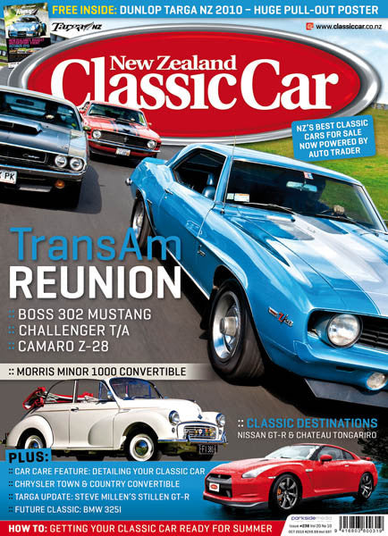 New Zealand Classic Car 238, October 2010