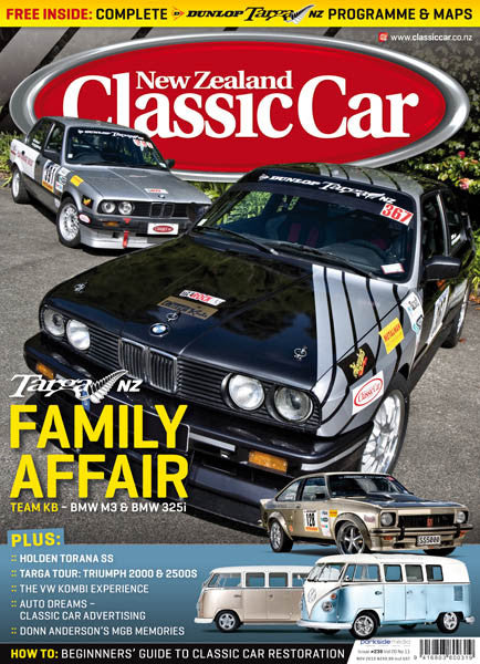 New Zealand Classic Car 239, November 2010