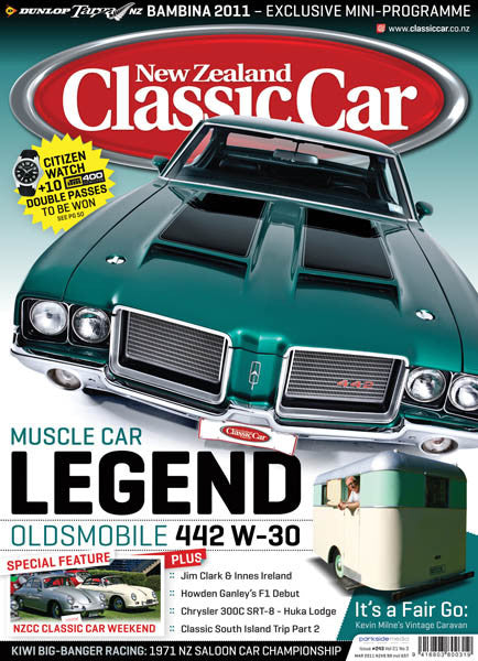 New Zealand Classic Car 243, March 2011