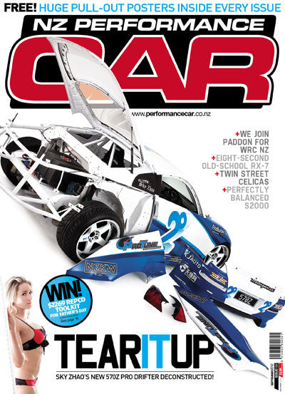 NZ Performance Car 189, September 2012