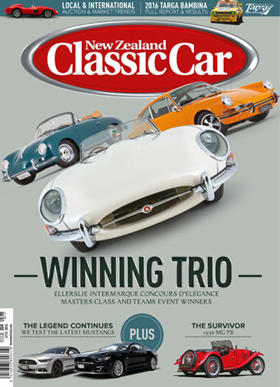 New Zealand Classic Car 304, April 2016