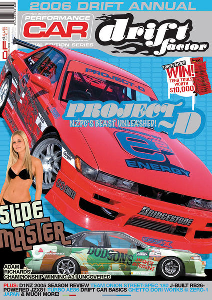 NZ Performance Car Special Edition — Drift Factor 2006