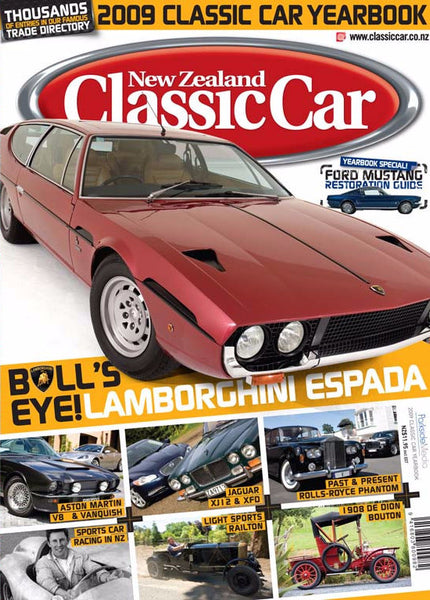 New Zealand Classic Car — Yearbook 2009