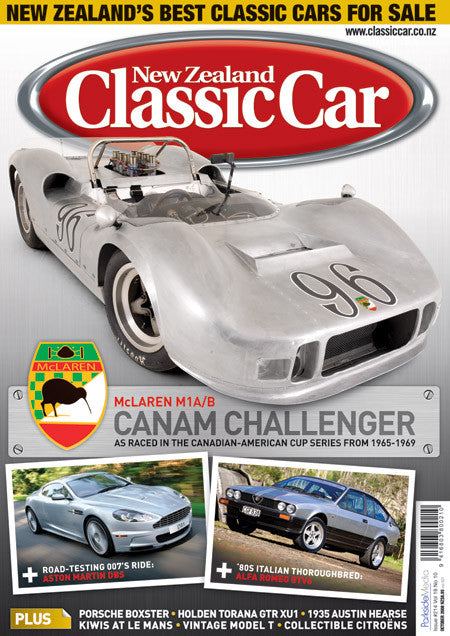 New Zealand Classic Car 214, October 2008