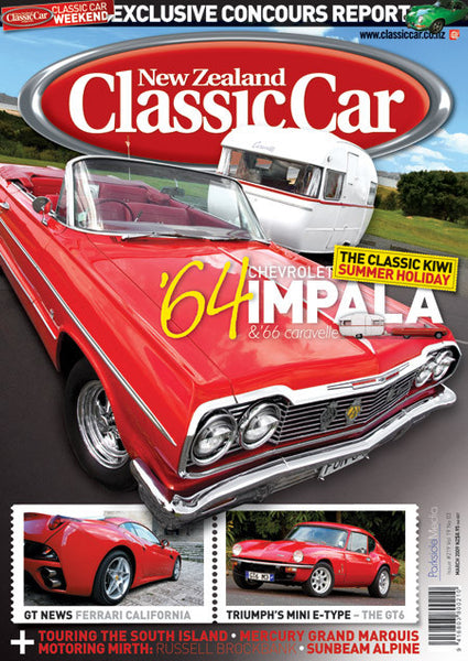 New Zealand Classic Car 219, March 2009