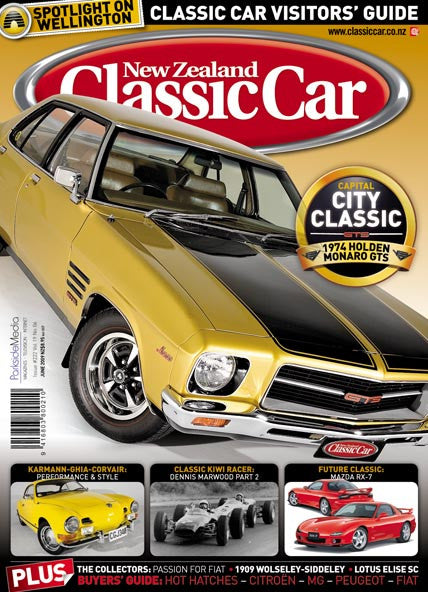 New Zealand Classic Car 222, June 2009
