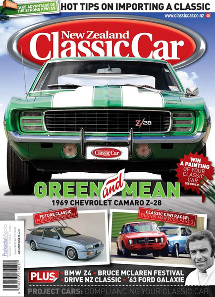 New Zealand Classic Car 223, July 2009