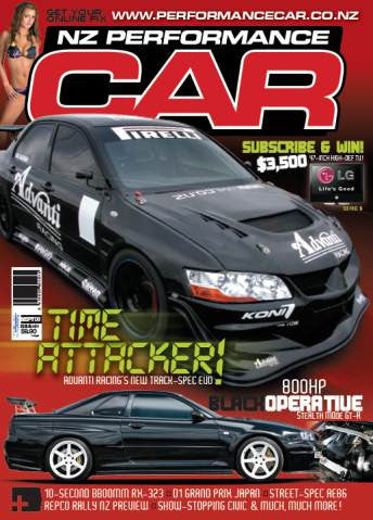 NZ Performance Car 141, September 2008