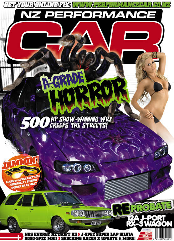 NZ Performance Car 155, November 2009
