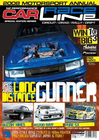 NZ Performance Car Special Edition — Raceline 2008