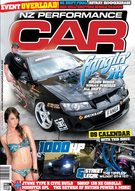 NZ Performance Car 146, February 2009