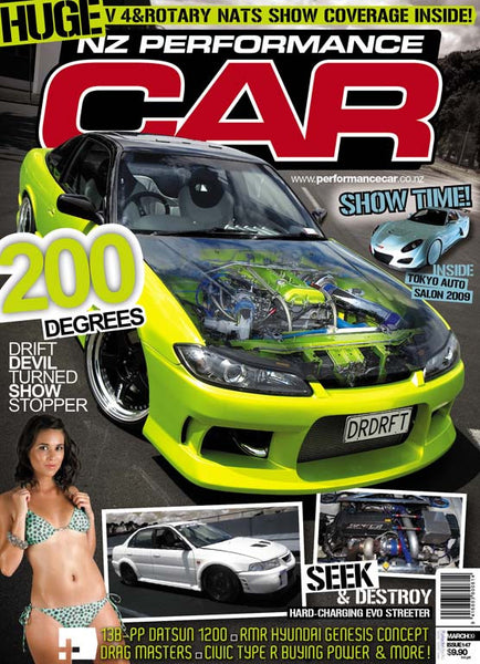 NZ Performance Car 147, March 2009
