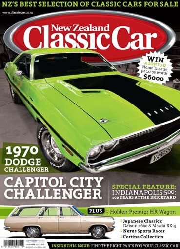 New Zealand Classic Car 248, August 2011