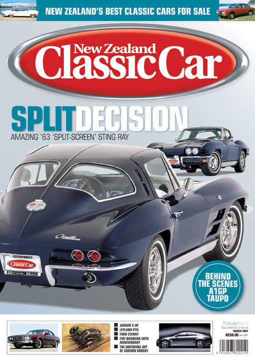 New Zealand Classic Car 195, March 2007