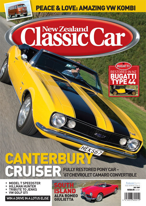 New Zealand Classic Car 199, July 2007